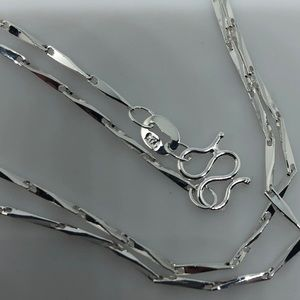 "Jewelry - 925 24"" Chain with M Closure."